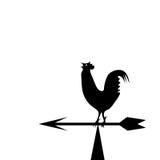 Paleta de tiempo bajo la forma de gallo Imagen de archivo
