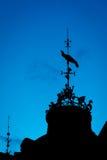 Paleta de tiempo en el cielo 3 Fotos de archivo libres de regalías