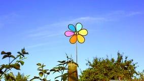 Paleta de tiempo multicolora - propulsor al aire libre metrajes
