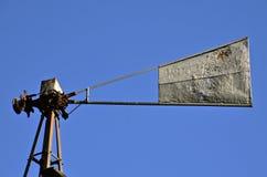 Paleta de viento de la criba de la bala Fotos de archivo
