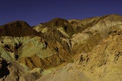 Paleta Death Valley de los artistas Fotos de archivo