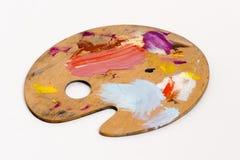 Paleta del pintor Fotografía de archivo