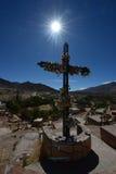 Paleta del Pintor, Maimara, la Argentina Imagenes de archivo