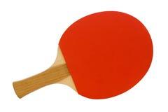 Paleta del rojo del ping-pong Imagen de archivo