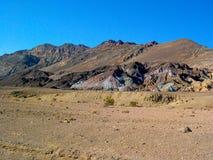 Paleta del ` s del artista en el parque nacional de Death Valley, California, los E.E.U.U. imágenes de archivo libres de regalías