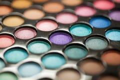 Paleta del sombreador de ojos Foto de archivo libre de regalías