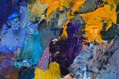 Paleta do artista Imagem de Stock