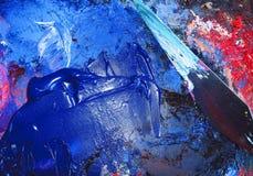 Paleta e faca de paleta Foto de Stock Royalty Free