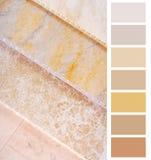 Paleta elogiosa da carta Imagem de Stock Royalty Free