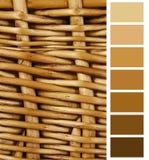 Paleta elogiosa da carta Fotografia de Stock