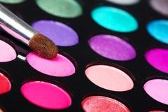 Paleta hermosa del sombreador de ojos. Fotos de archivo