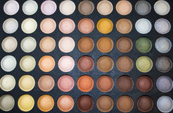 Paleta multicolorido da sombra para os olhos Fotos de Stock