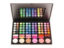 Paleta profesional del maquillaje Imágenes de archivo libres de regalías