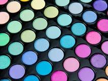 Paleta profesional del maquillaje fotografía de archivo