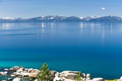 Paleta que sube al lago Tahoe fotografía de archivo libre de regalías