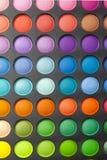Palete del color del maquillaje Fotos de archivo libres de regalías