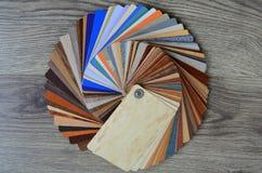 Paletsteekproeven van kleuren Royalty-vrije Stock Foto's
