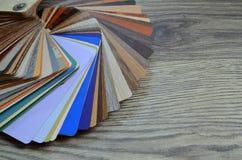 Paletsteekproeven van kleuren Stock Afbeeldingen