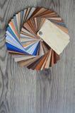 Paletsteekproeven van kleuren Royalty-vrije Stock Foto