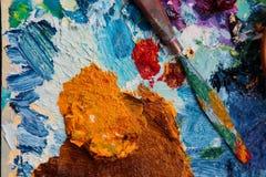palett Royaltyfria Bilder