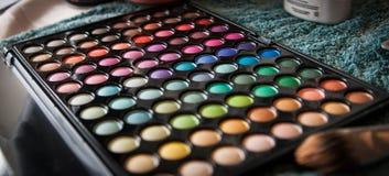 Palett för ögonskugga Royaltyfria Bilder
