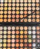 Palett för makeupögonskugga Royaltyfri Bild