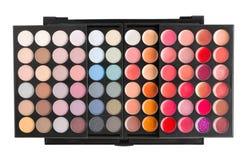 Palett för makeup Royaltyfri Fotografi