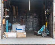 Palett Jack Truck Royaltyfri Bild