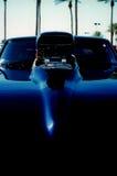 Paletta del Supercharger e del cappuccio Fotografia Stock