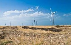 Paletta della turbina del vento. Immagini Stock