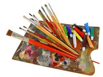 Palette Royalty Free Stock Image