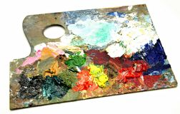 Palette Stock Images