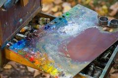 palette Fotografia Stock Libera da Diritti