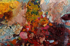 Palette Stock Image