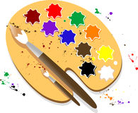 Free Palette Royalty Free Stock Photography - 8239487