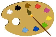 palette vector illustratie