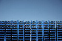 Palette bleue - ciel bleu Image libre de droits