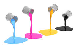 Palette CMYK Stock Photography