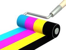 Palette CMYK Royalty Free Stock Photos