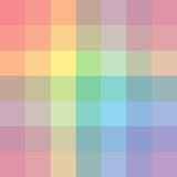 The palette of colors. Imposition of color on color.. Background. Vector colored streame. Pictorial art. Rainbow design elements Stock Illustration