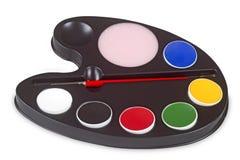 Palette of Colours Stock Photos