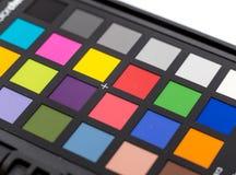 Palette d'échantillons de couleur image libre de droits