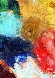 Palette d'artiste Images libres de droits