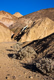 Palette d'artiste dans Death Valley Image stock