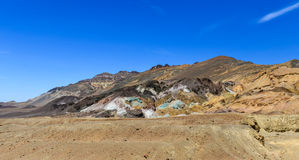 Palette d'artistes dans Death Valley Photographie stock libre de droits