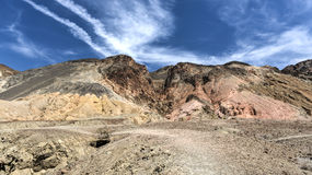 Palette d'artistes dans Death Valley Photographie stock