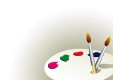 Palette de couleur   Images stock