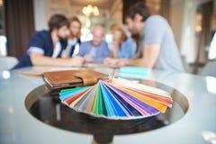 Palette de couleur Photographie stock libre de droits