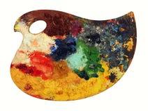 Palette de couleur classique d'art Image libre de droits