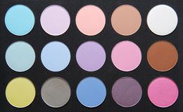 Palette de couleur en pastel sèche SH Photo libre de droits